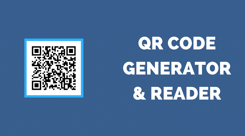 QR Code Generator and Reader using HTML & JavaScript