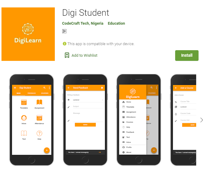 DigiLearn for Student